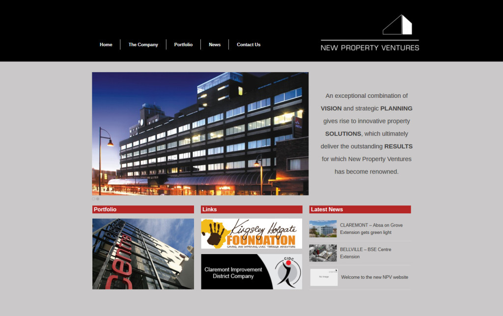 NPV New Site